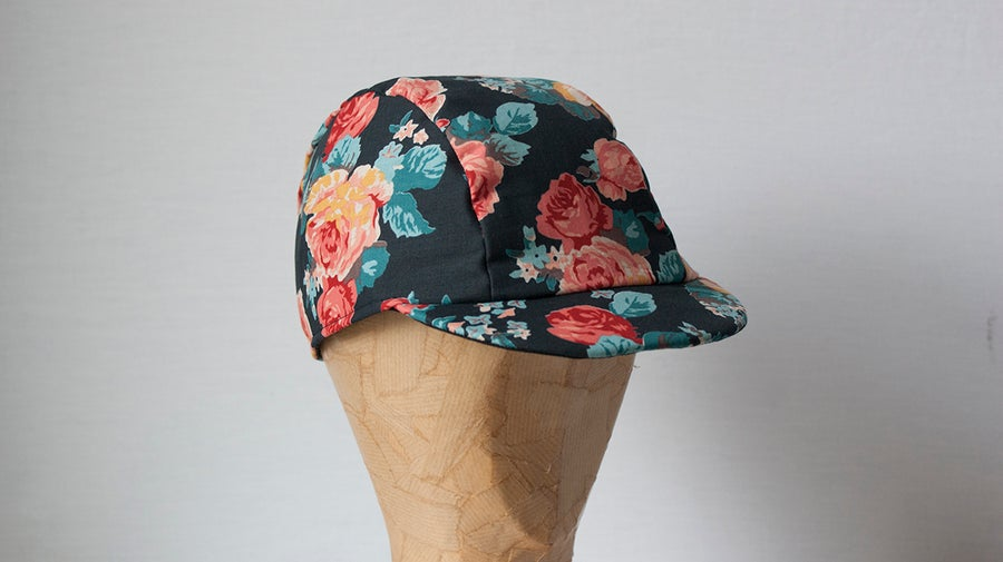 Image of Floral 3 Panel Cap