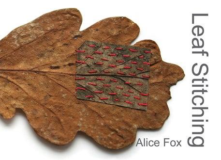 Image of Leaf Stitching