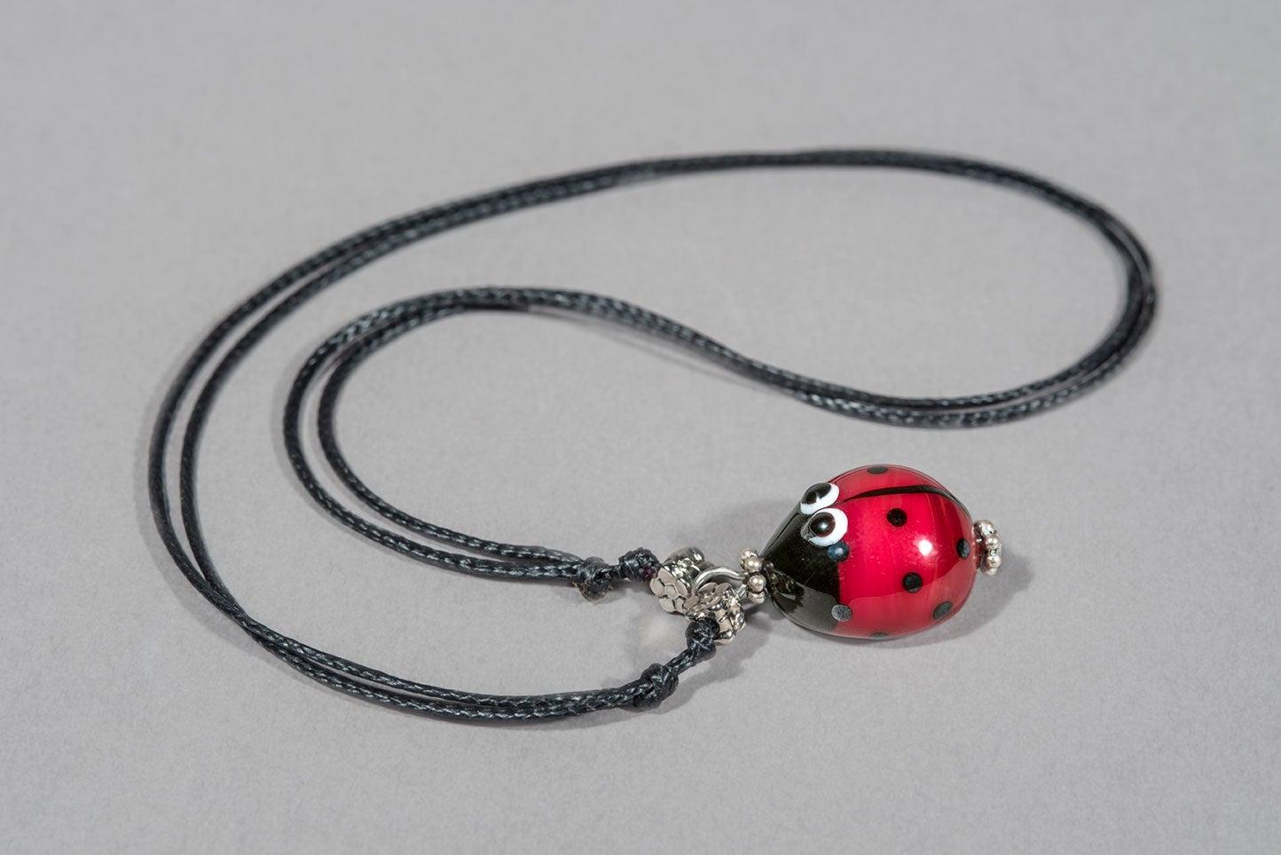 Image of collana COCCI in perle di vetro di Murano