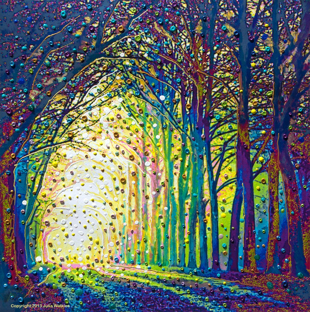 Image of Cathedral Of Light - Divine Revelations Print