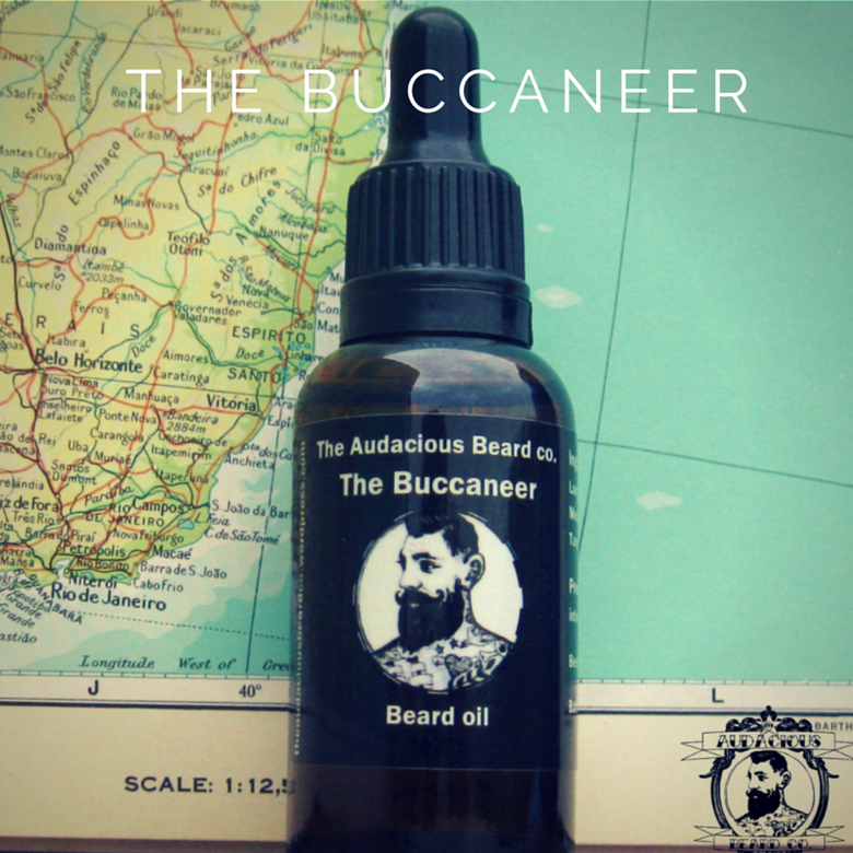 Image of The Buccaneer - beard oil - The Audacious Beard Co