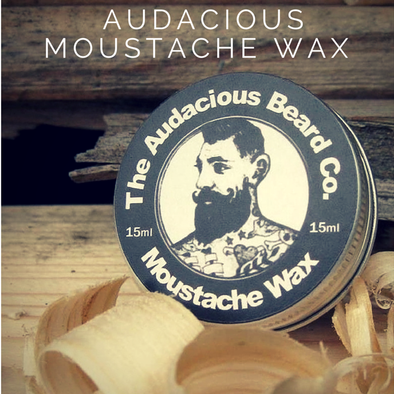 Image of Moustache wax - The Audacious Beard Co