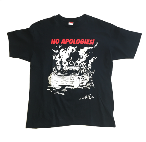 Image of Supreme 'No Apologies!' Tee