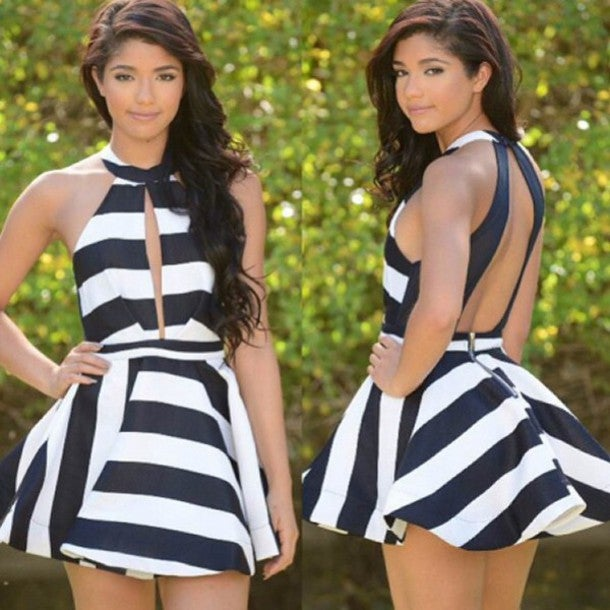 Image of Hot grain high waist show body dress