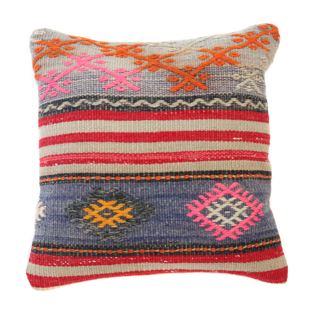 Image of KILIM PILLOW COVER NO. 1 (1 AVAILABLE)