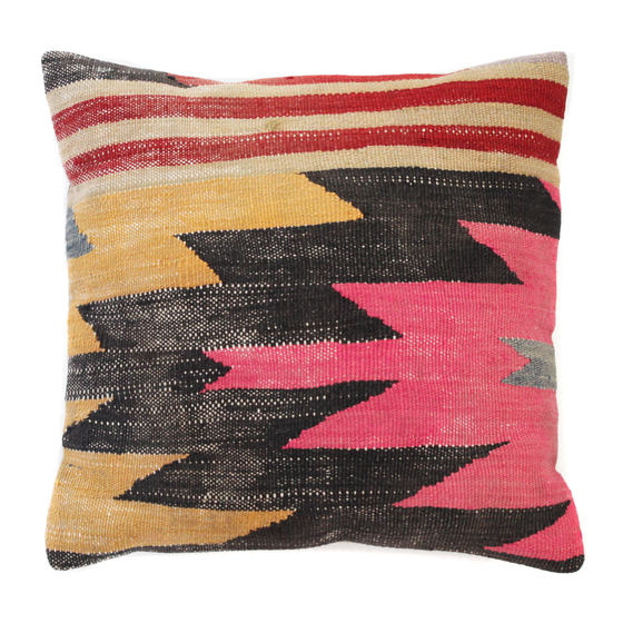 Image of KILIM PILLOW COVER NO. 2 (1 AVAILABLE)