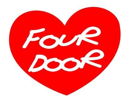Image of Four Door Love - Red