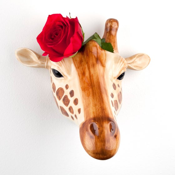Image of GIRAFFE WALL VASE