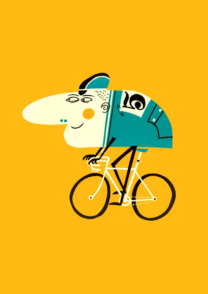 Image of cycliste