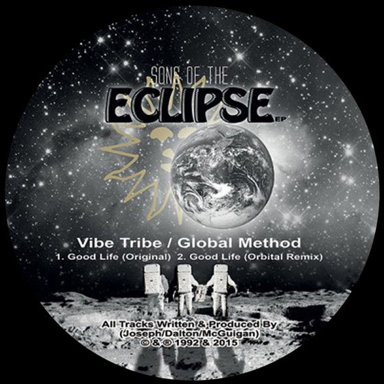 "Image of Vibe Tribe & Global Method - Sons Of The Eclipse EP - KVA003 / 9T2R008 - 2x12"" Vinyl - SOLD OUT"