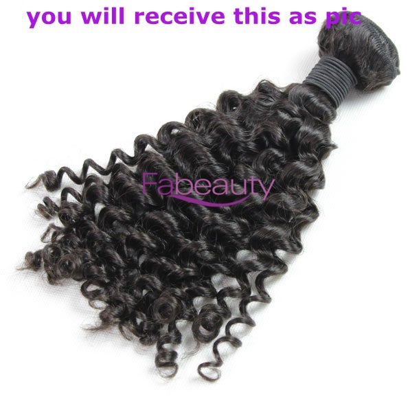 Image of Best virgin Brazilian hair Curly wave