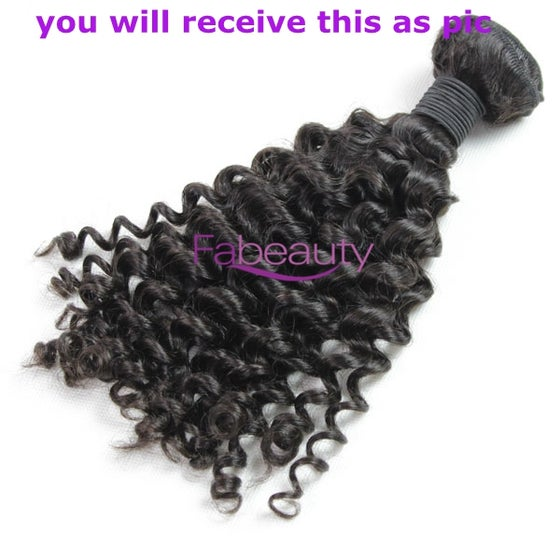 Image of Best virgin Brazilian hair Curly wave