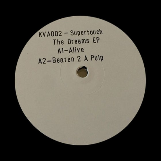 "Image of Supertouch - The Dreams EP - KVA002 - 12"" Vinyl - SOLD OUT"