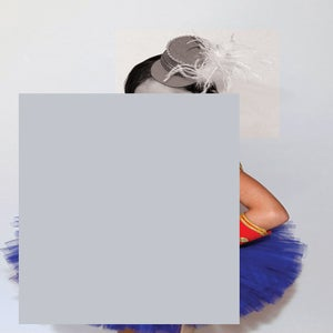 Julia Wachtel, Untitled (rectangle with hat and arm), 2015