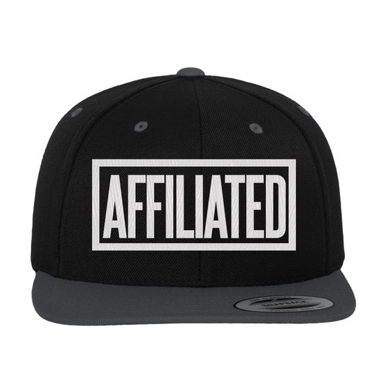 "Image of B.Wash - ""Affiliated"" Snapback (Black/Grey)"