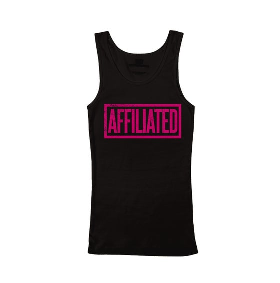 "Image of B.Wash - ""Affiliated"" Women's Tank Top (Black)"