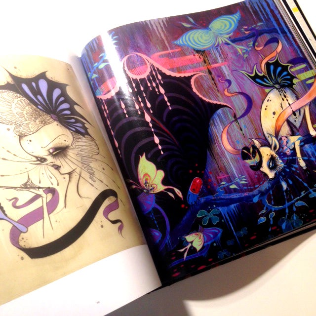 "Image of ""Mirror, Black Mirror"" SIGNED art book"