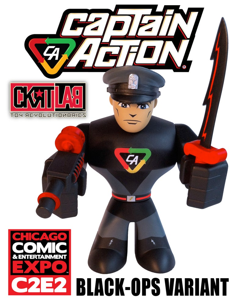 Image of CAPTAIN ACTION: BLACK-OPS [C2E2 EXCLUSIVE]