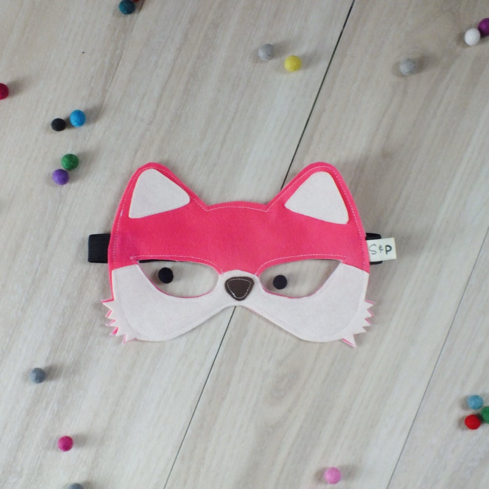 Image of Pink Fox Mask