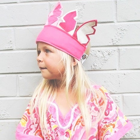 Image of Feather headdress - cotton candy