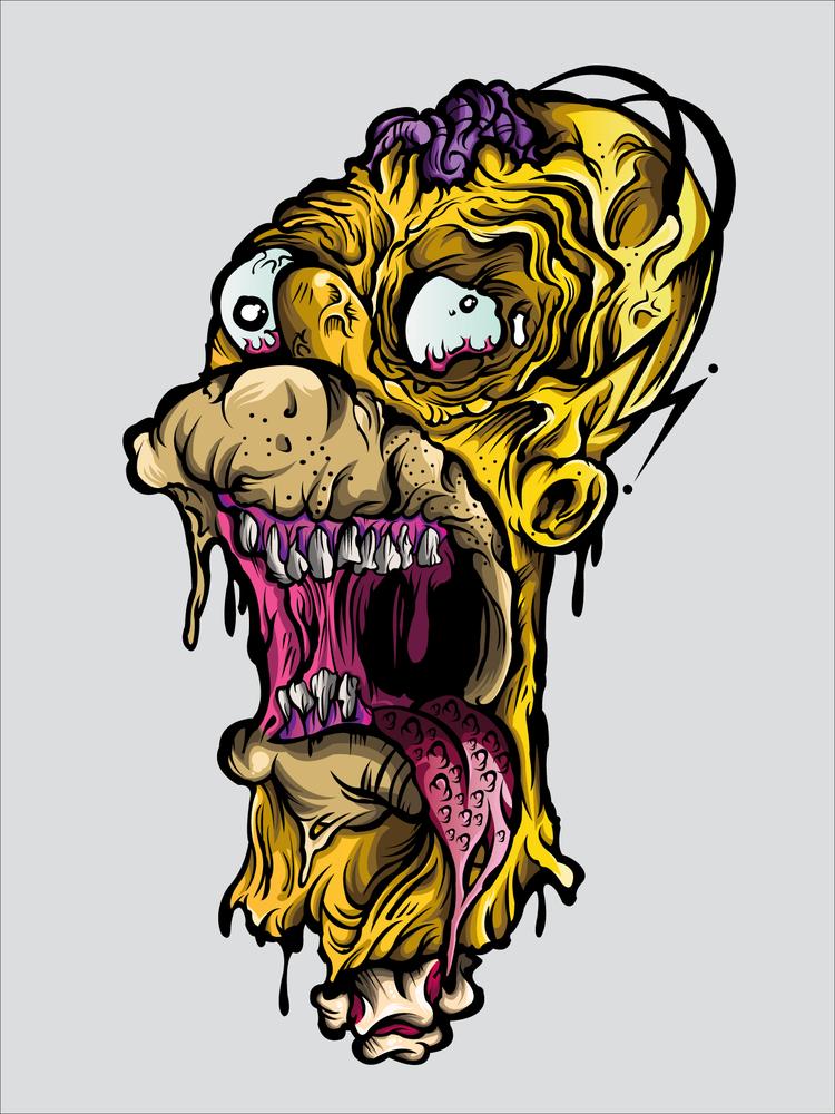Image of NIGHTMARE HOMER