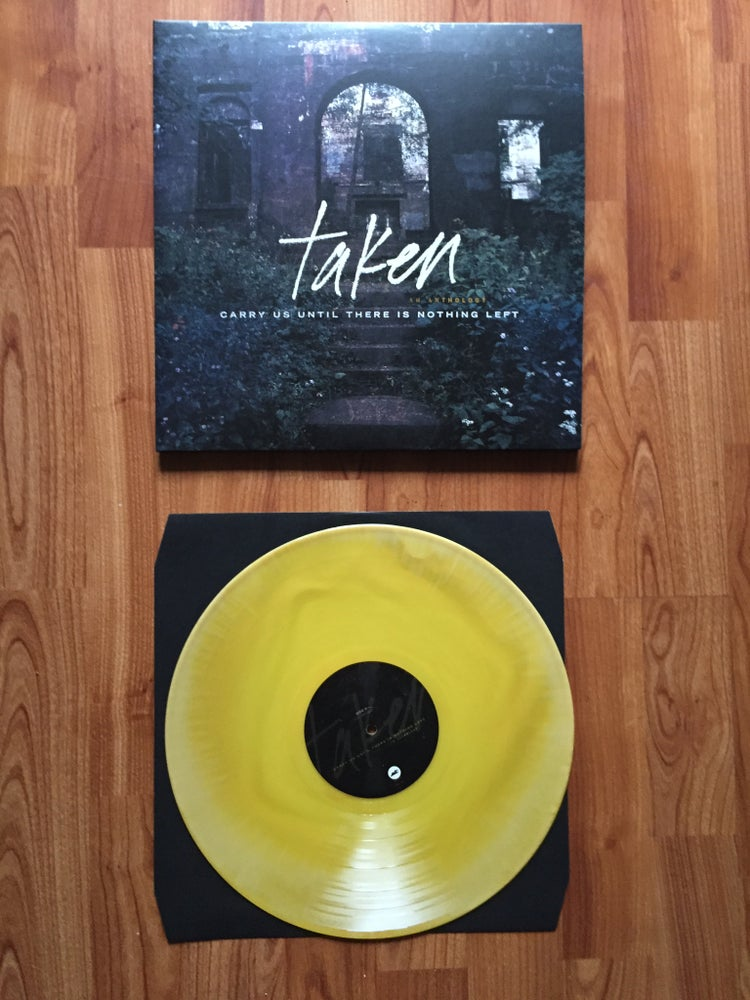 Image of Taken - Carry Us Until There Is Nothing Left 2xLP