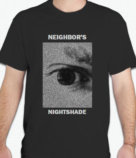 """Image of Neighbor's Nightshade """"Eye Sleep"""" T-Shirt"""
