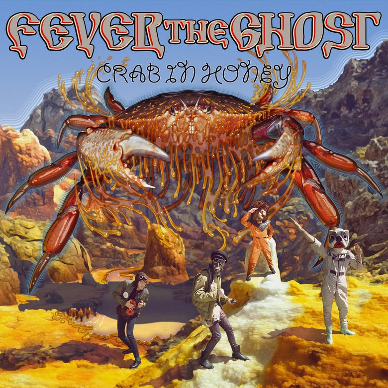"Image of Fever The Ghost 'Crab In Honey' EP (double vinyl 7"" gatefold)"