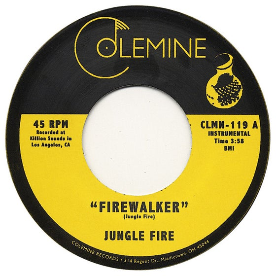 "Image of Firewalker / Chalupa - 7"" single"