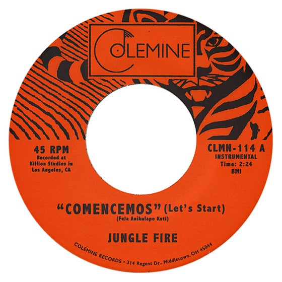 "Image of Comencemos / Tokuta - 7"" Single"