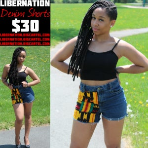 Image of LiberNation Denim Shorts