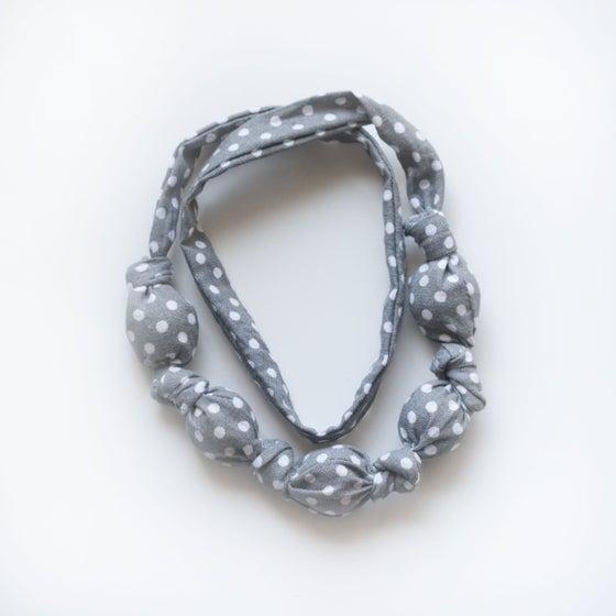 Image of Grey Dot Teething Necklace