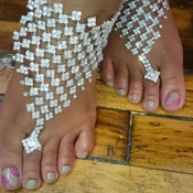 "Image of ""Michelle"" Barefoot Sandal"