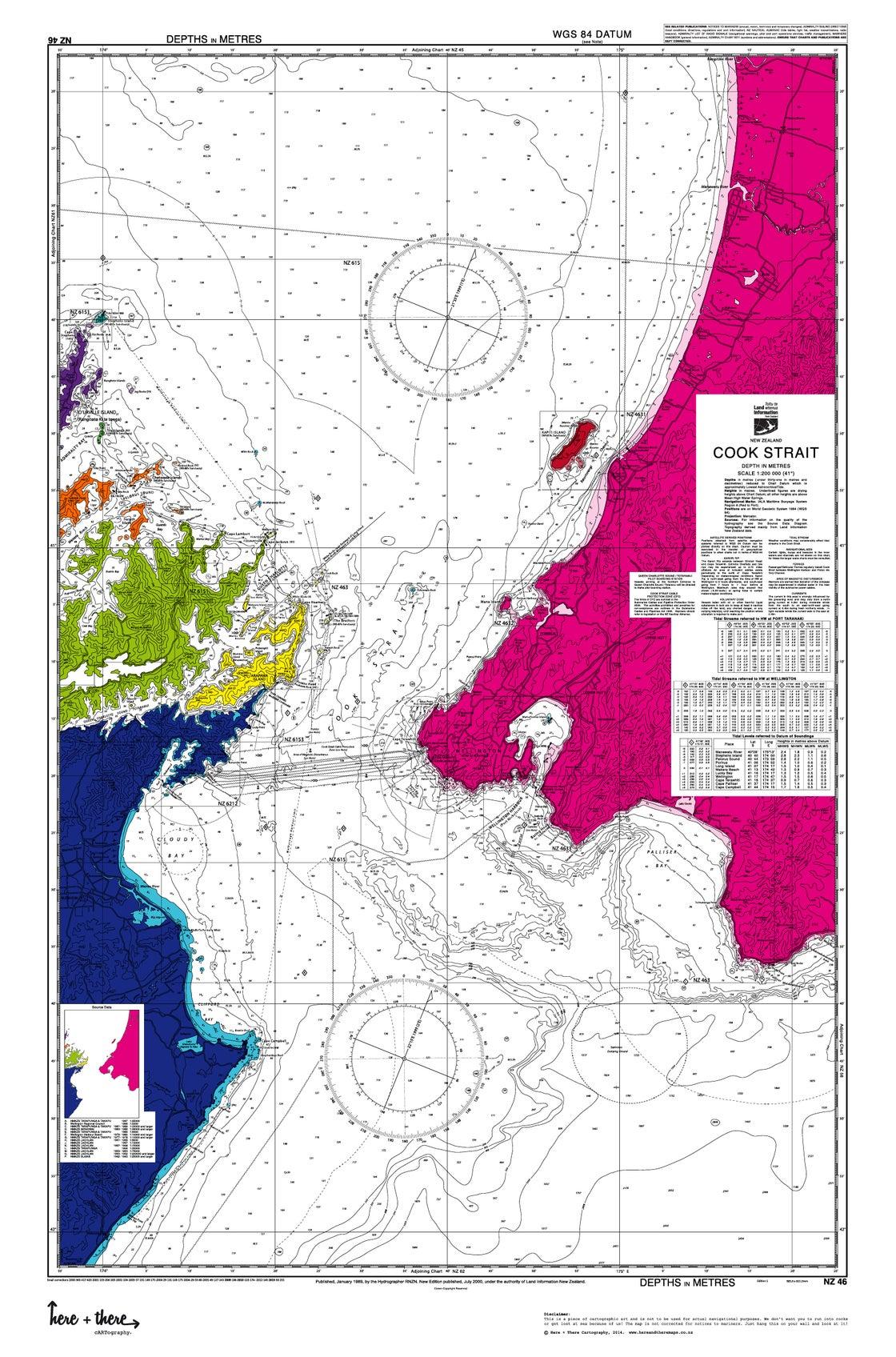 Image of Cook Strait - Rainbow Bomb