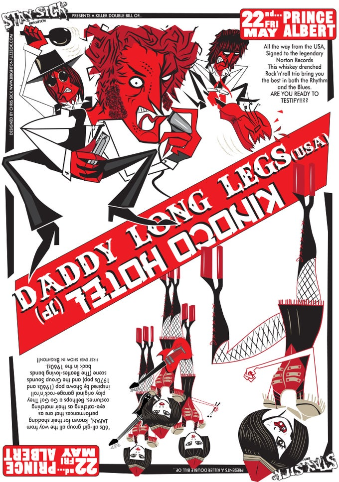 Image of Daddy Long Legs Vs Kinoco Hotel