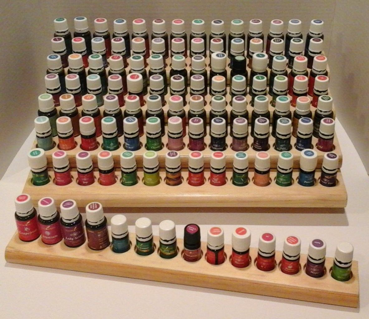 Abundant Stairway Essential Oil Rack With Extension Bar