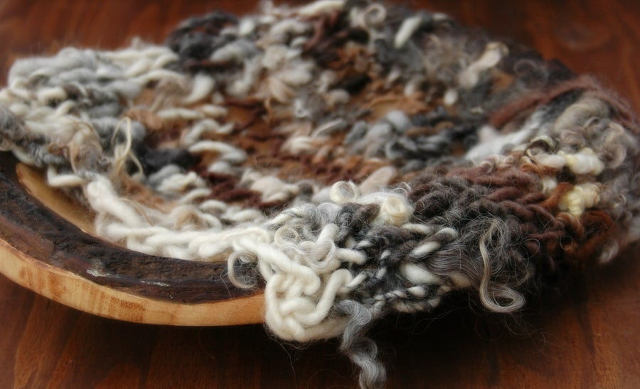 Image of Wild & Wooly Knit Blanket