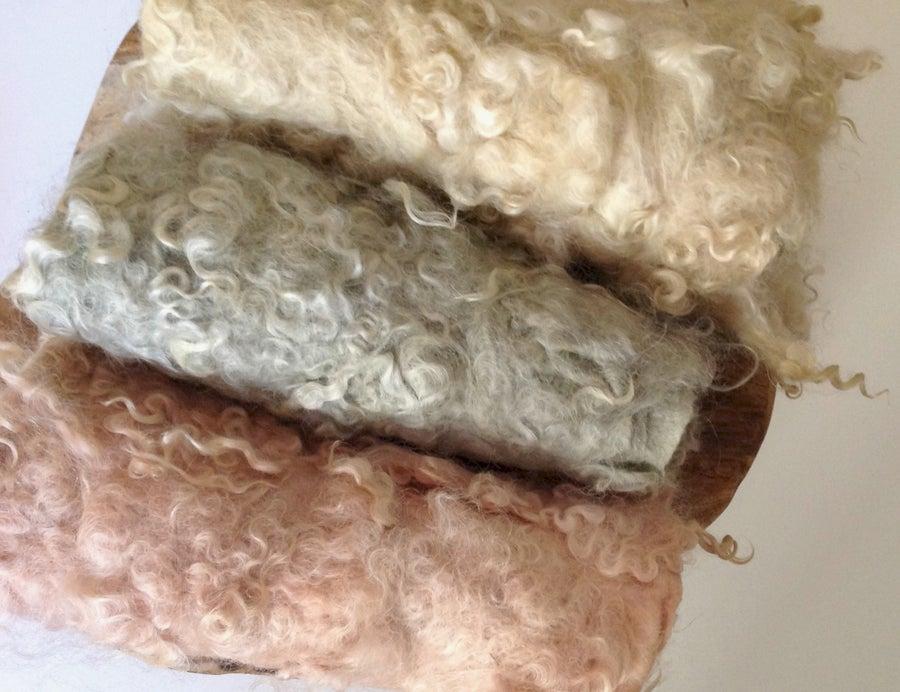 Image of Nest of Curls Blanket - vintage collection