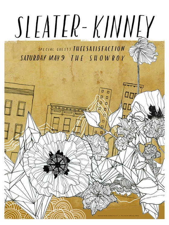 Image of Sleater-Kinney / May 9, 2015 / Seattle