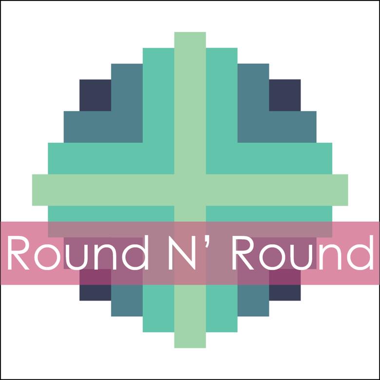 Image of Round N' Round Mini Quilt #113, PDF Pattern