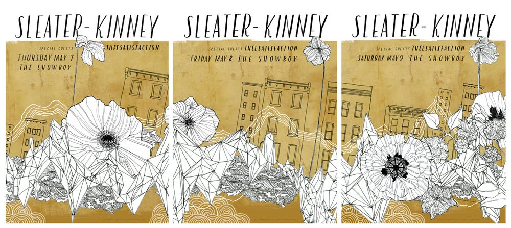 Image of Sleater-Kinney / May 8, 2015 / Seattle
