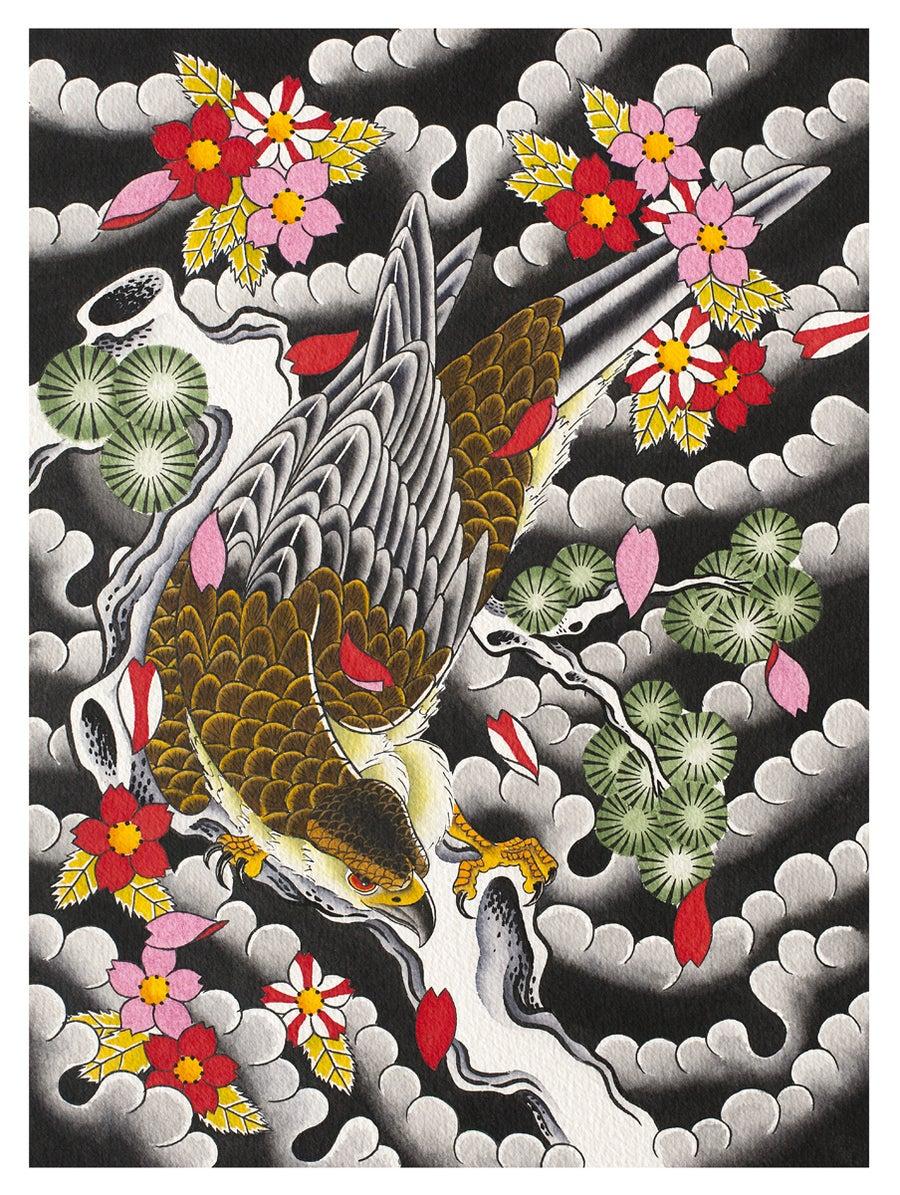 Image of Hawk Print