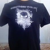 Image of Men's Skull W/ Mask T-shirt