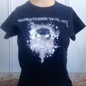Image of Women's Skull W/ Mask T-shirt