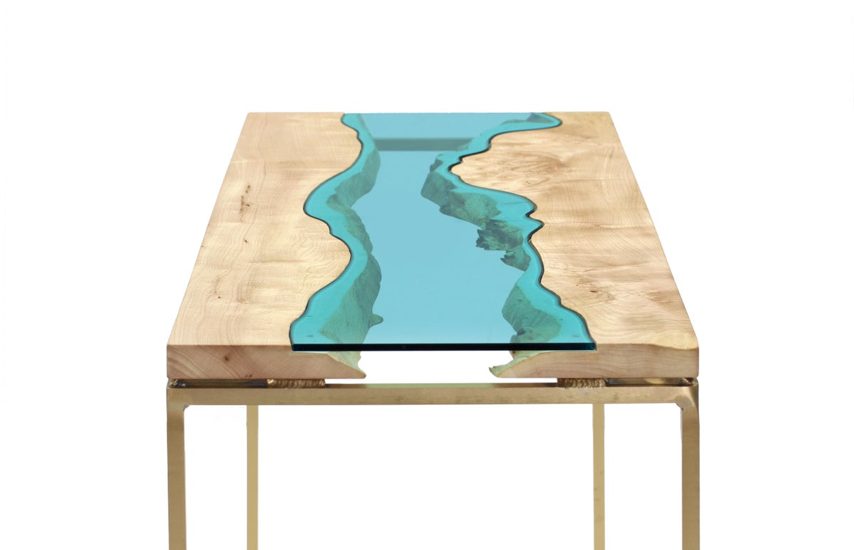 Maple Bronze River Table Greg Klassen