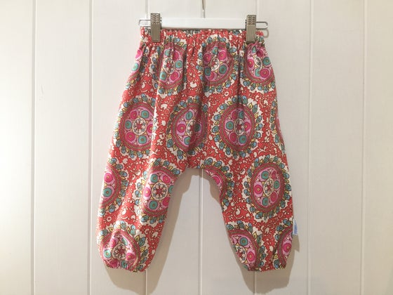 Image of Cherry Tile - Boho Harem Pants
