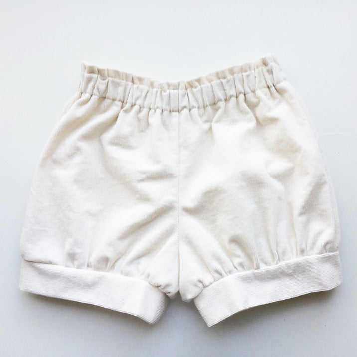 Image of Meyer Shorts (Warm White Corduroy)