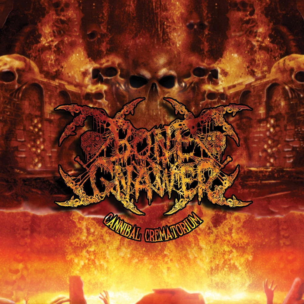 "Image of BONE GNAWER ""Cannibal Crematorium"" CD"