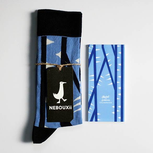 Image of Notepad & Nebouxii socks