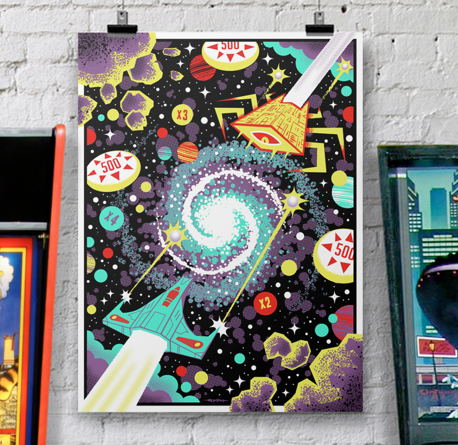 Image of 'Solenoids & Asteroids' by Graham Pilling